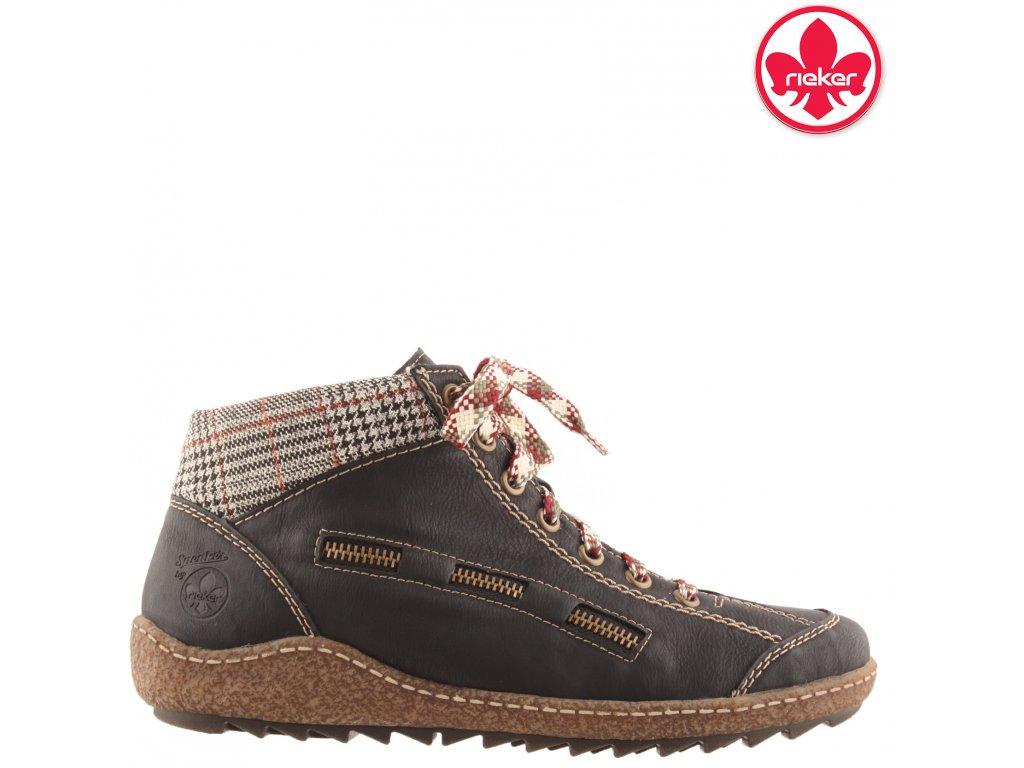 Dámské kotníkové boty Rieker L7543-01 sleva 991630
