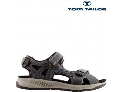 Modré trekové dámské sandály Tom Tailor Sleva 34007511