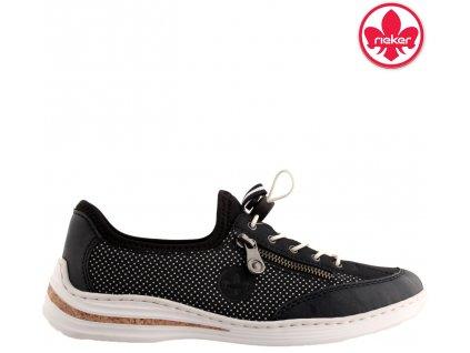 Dámské vycházkové sportovní boty sneakers Rieker M3569-14 sleva 942554