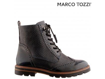 Dámské kotníkové kozačky na podpatku Marco Tozzi 38097811
