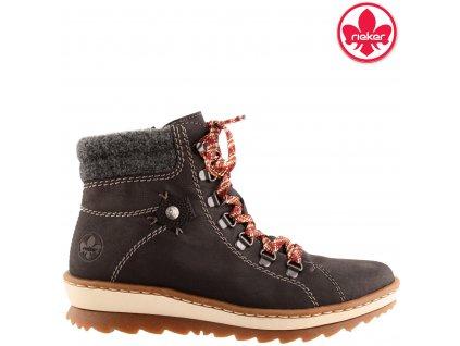 Dámské kotníkové boty farmářky Rieker Z8609-00 sleva 962358