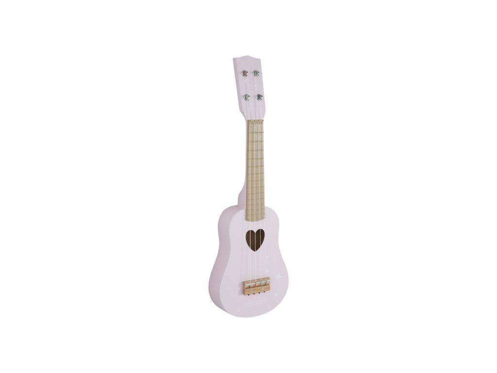 102557 little dutch kytara pink