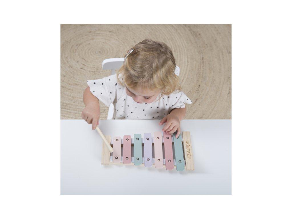 102506 little dutch xylofon pink