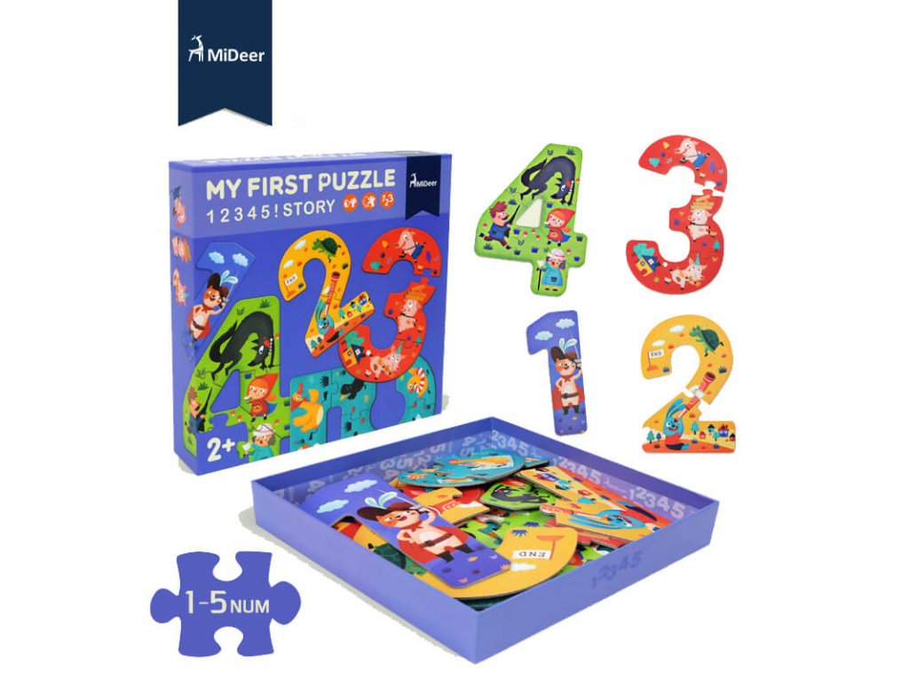 Mideer my first puzzle 1 1