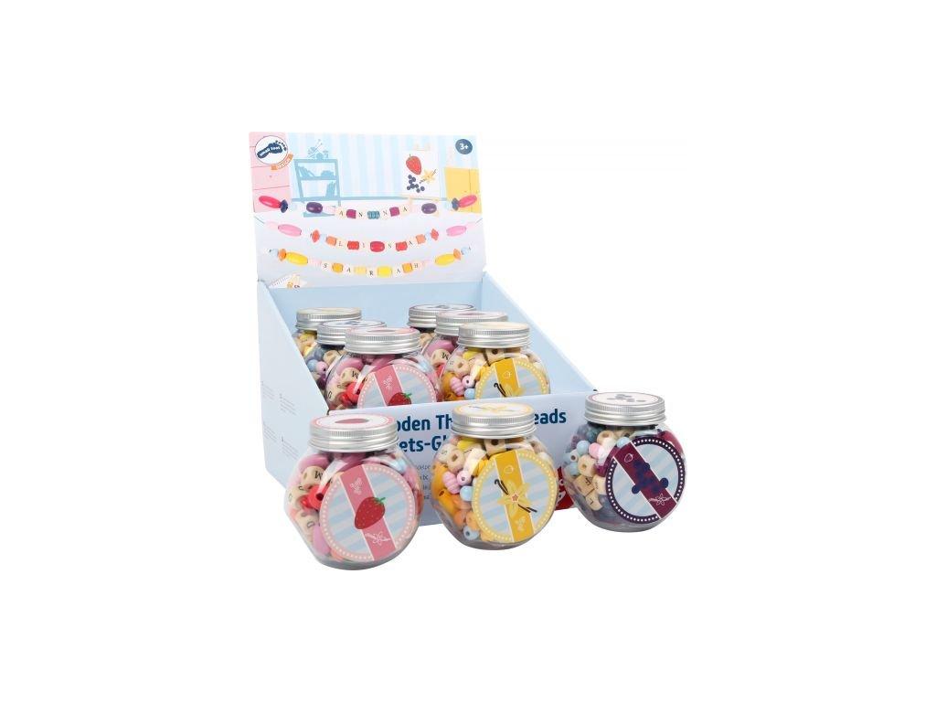 11249 legler small foot faedelperlen candys display a