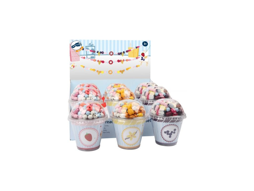 11248 legler small foot faedelperlen candys display cupcakes a