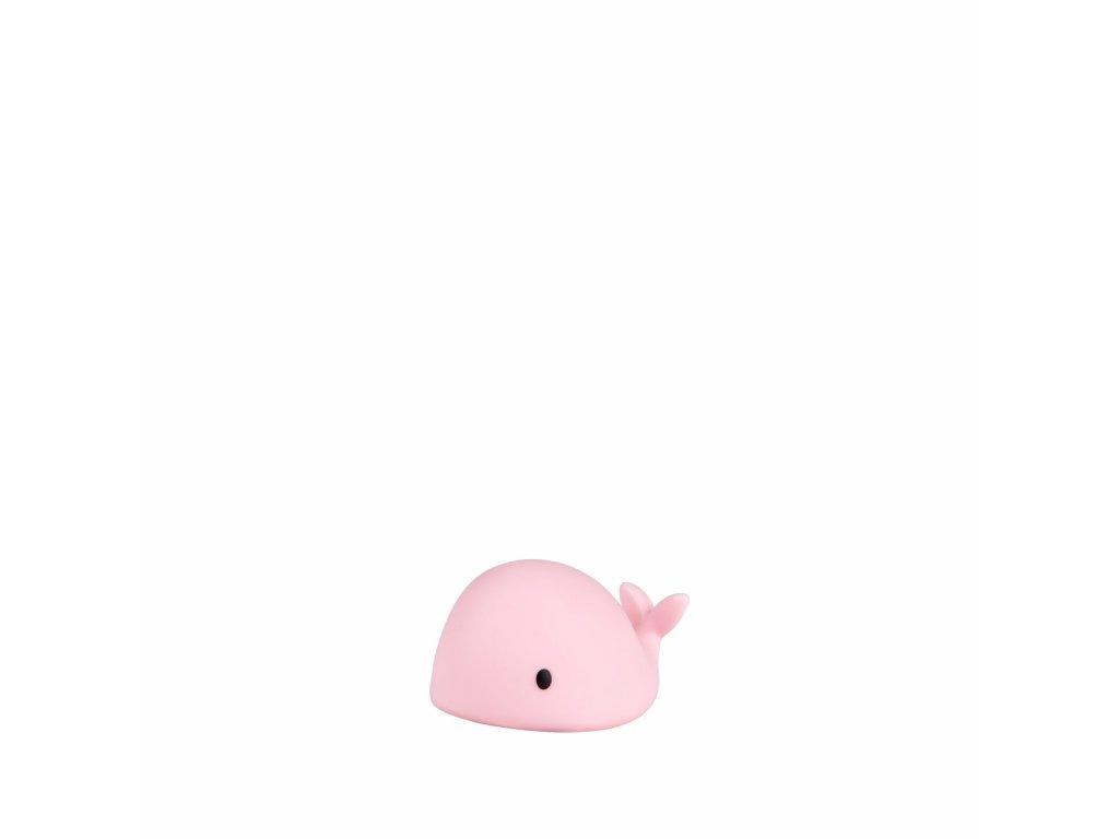 FLOW Noční světlo Moby Mini Pink