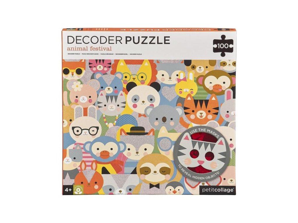 PTC330 PRO DecoderPuzzleAnimalFestival100pc 01 HI 1800x