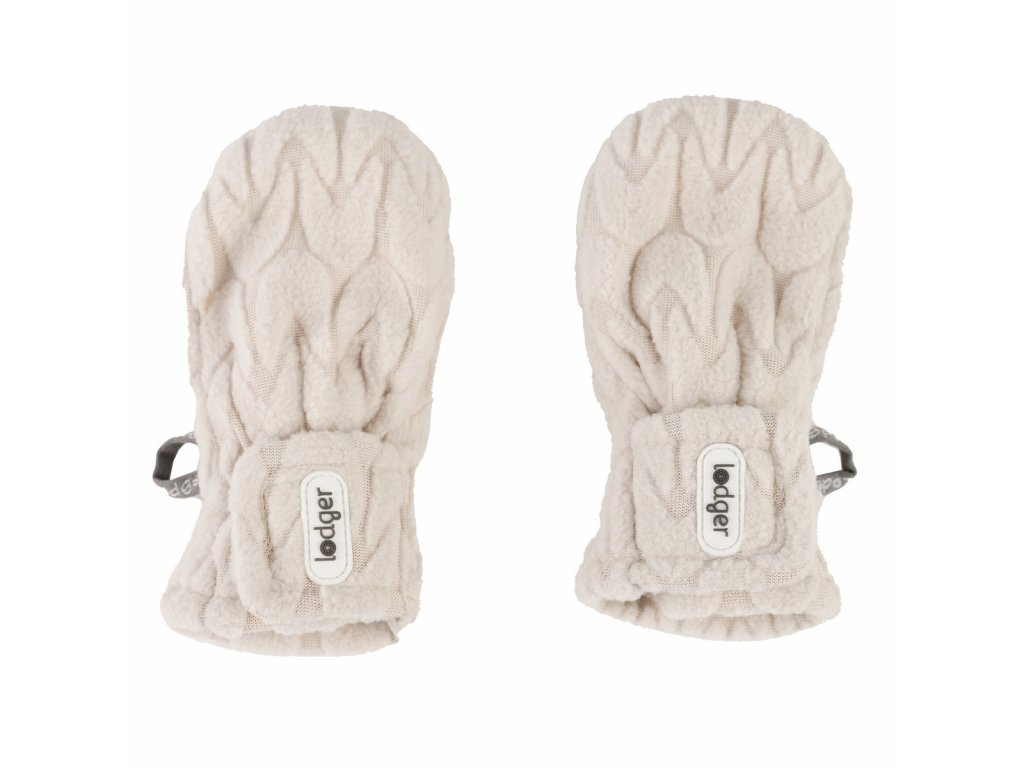 LODGER Mittens Empire Fleece Birch
