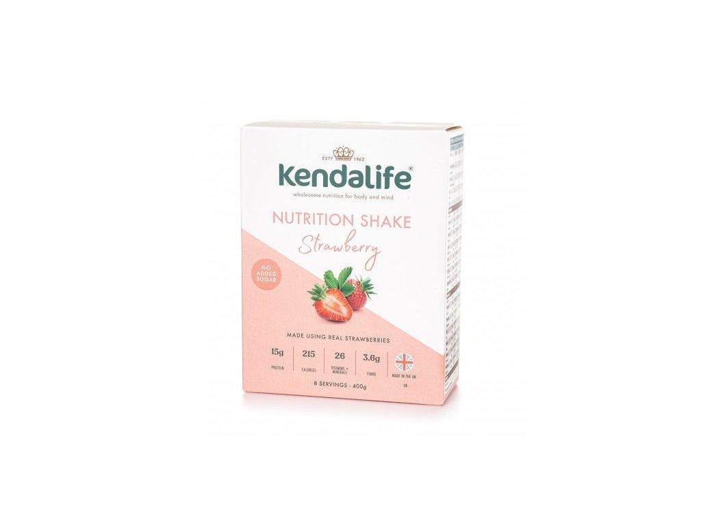1286 kendalife proteinovy napoj jahoda 400 g