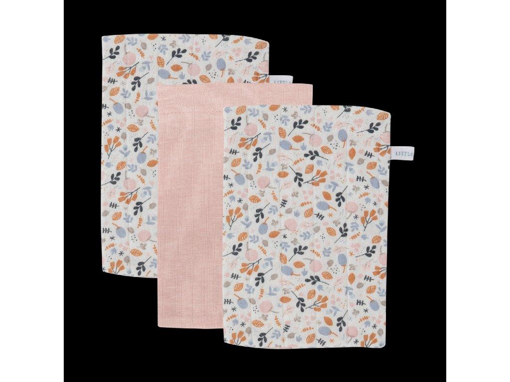 TE50520255 Žínky 3ks Spring flowers
