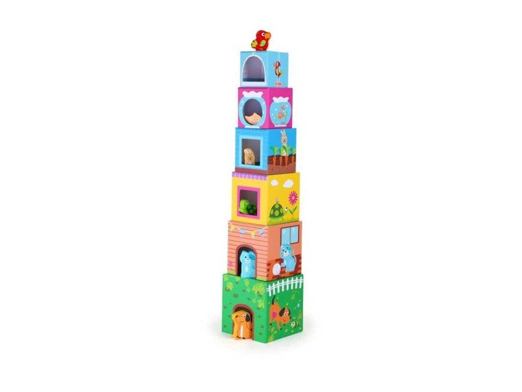 věž z kos