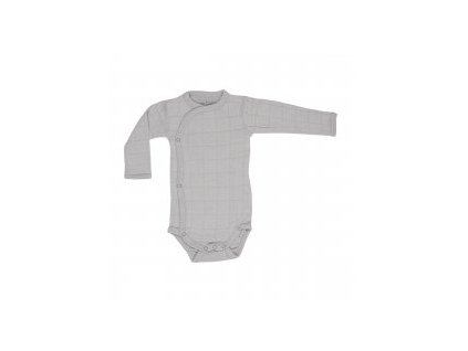 LODGER Romper Solid Long Sleeves Mist vel. 62