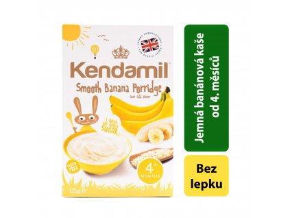 Kendamil Jemná dětská banánová kaše (125g) Počet balení: 1