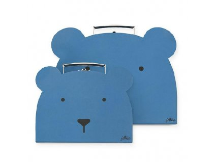 Kufříky Animal club blue 2ks