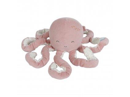 4803 Malá plyš.chobotnička pink.