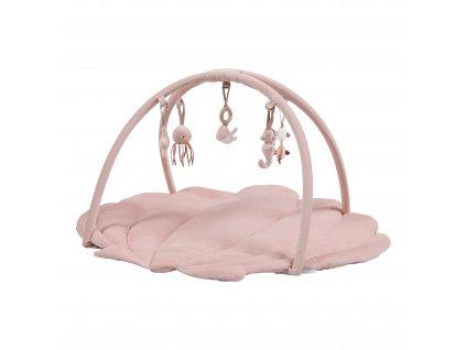 4845 Hrací deka s hrazdičkou pink (1)