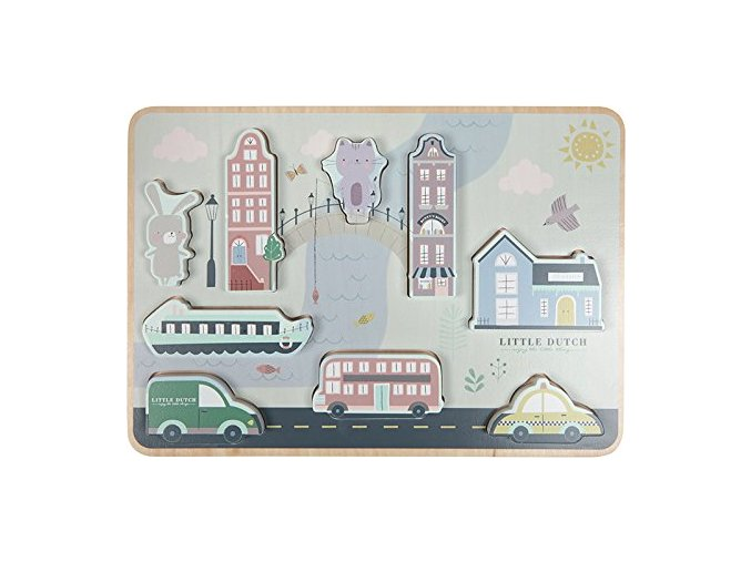 102485 little dutch vkladaci puzzle mesto
