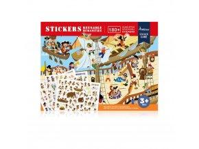reusable stickers 03 humanities