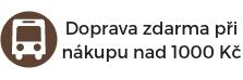 Doprava zdarma při nákupu nad 1000 Kč na Eliwood.cz