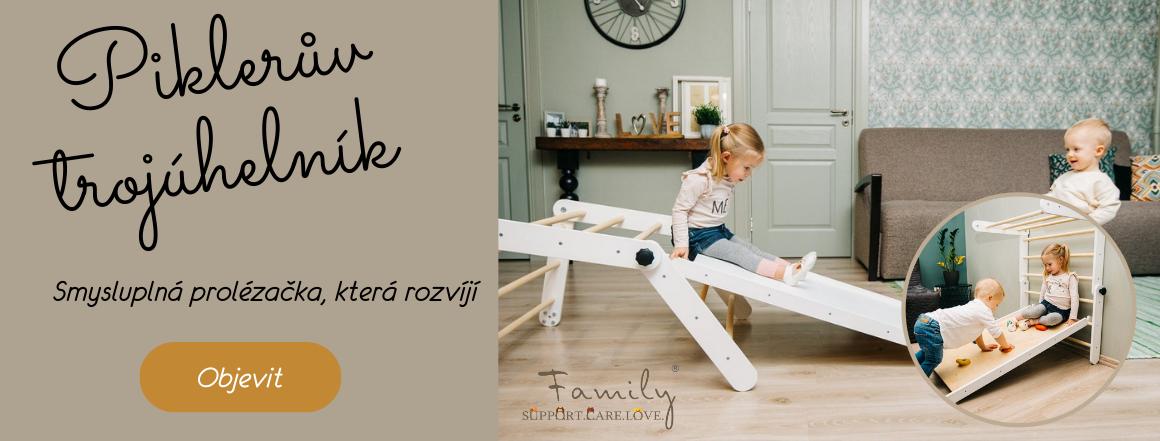 Piklerův trojúhelník by Toddler in Family - prolézačka, který rozvíjí