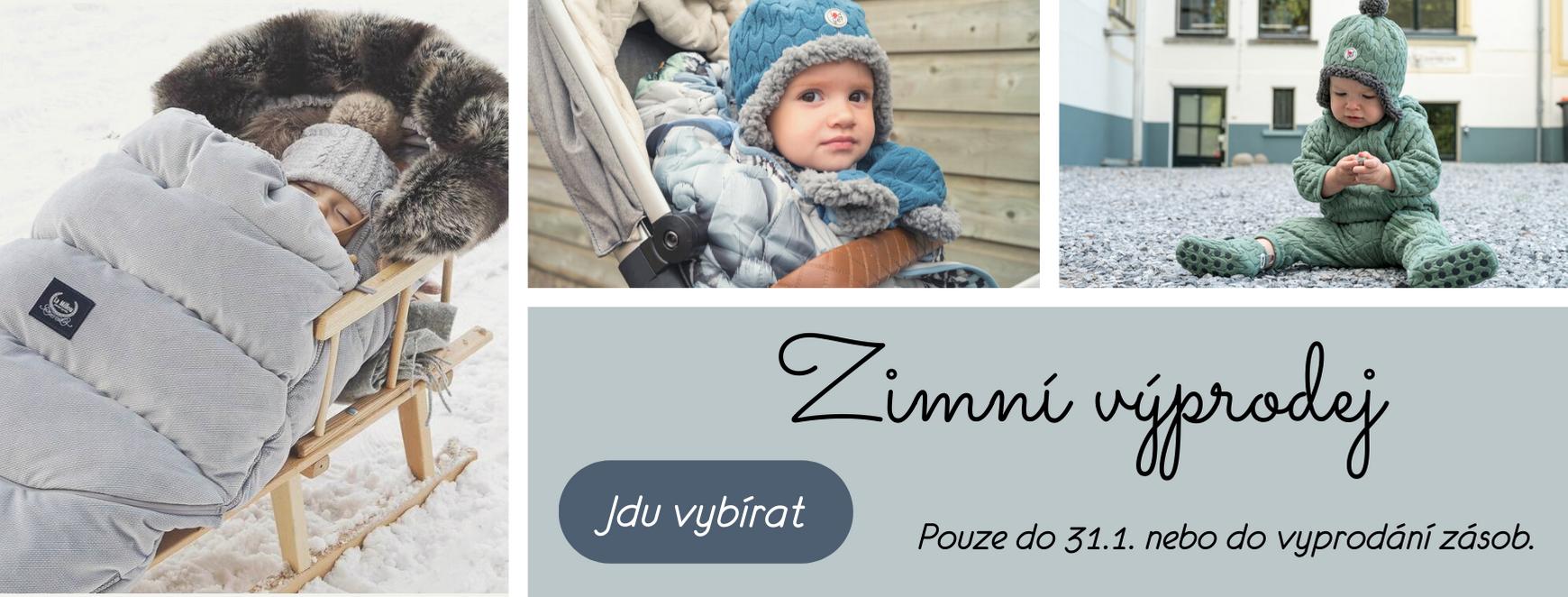 Zimní výprodej na Eliwood.cz! Nakupte dětskou výbavičku se slevou! Oblíbené značky a produkty nyní v akci na Eliwoodu!
