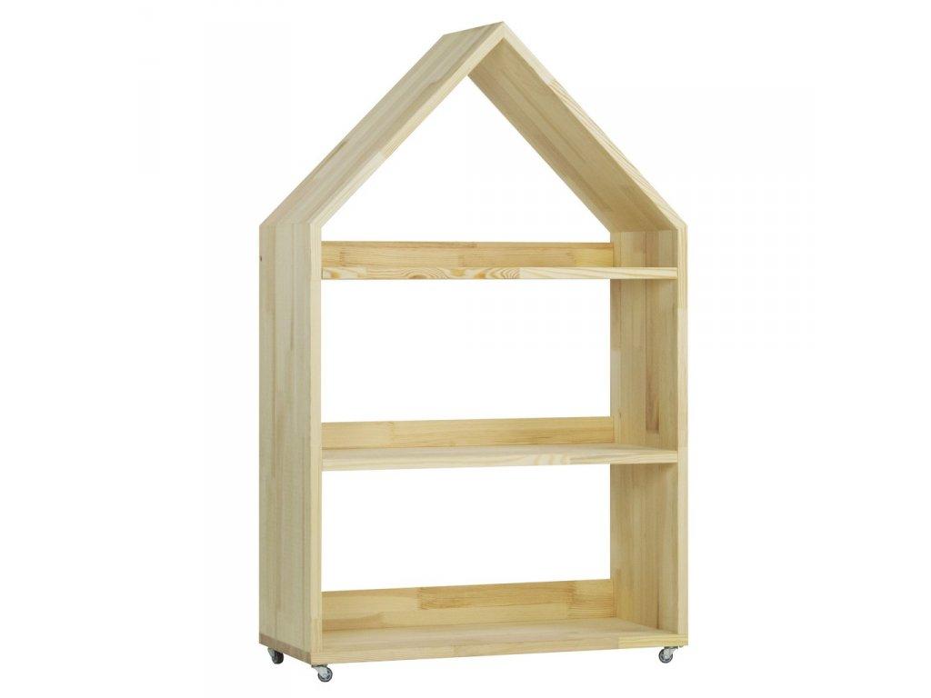 Dětské skříňky ve tvaru domečku