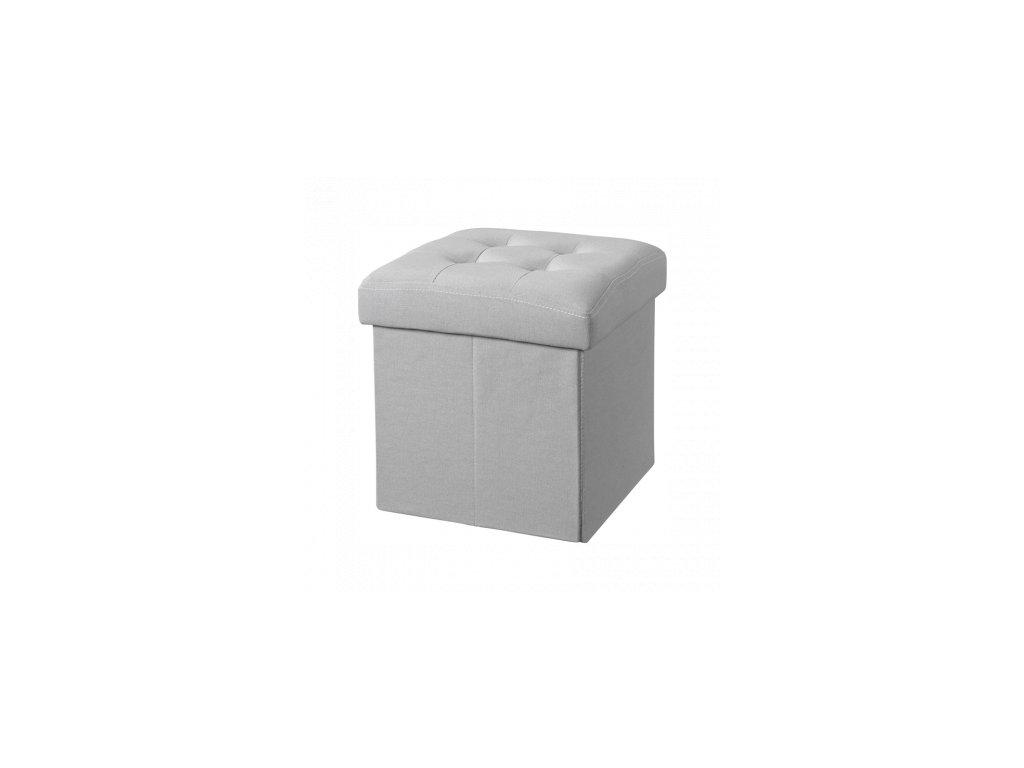 Dětský úložný box šedý Eliwood