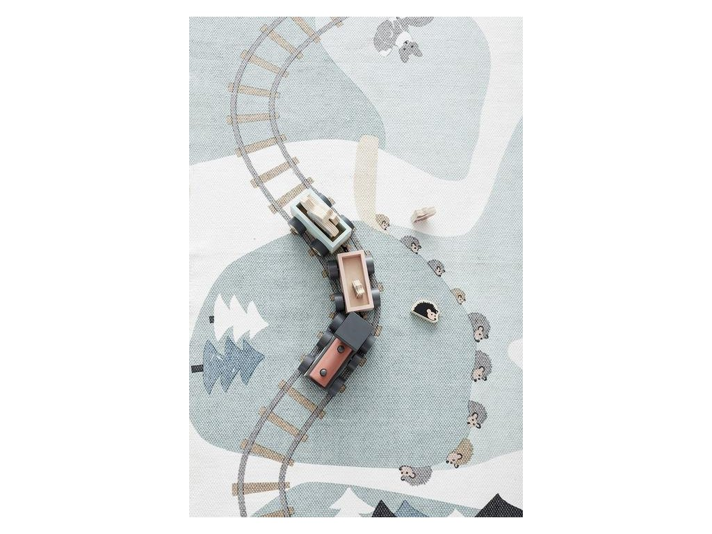 Dětský koberec Woodland z kolekce Edvin by Kids Concept