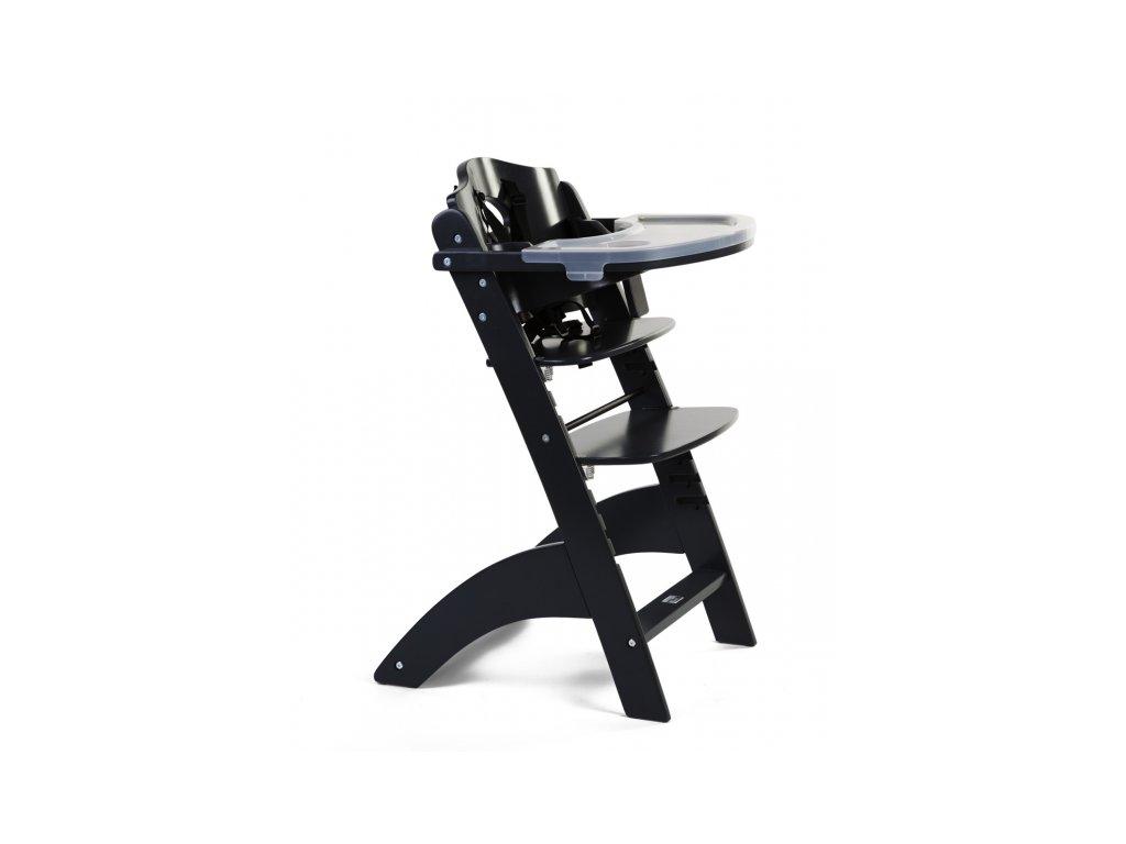 Childhome Rostoucí židlička Lambda 3 Black