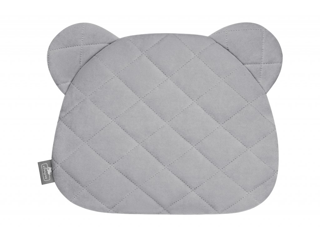 Polštář Sleepee Royal Baby Teddy Bear Pillow šedá