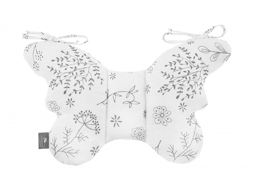 Stabilizační polštářek Sleepee Butterfly pillow luční kvítí