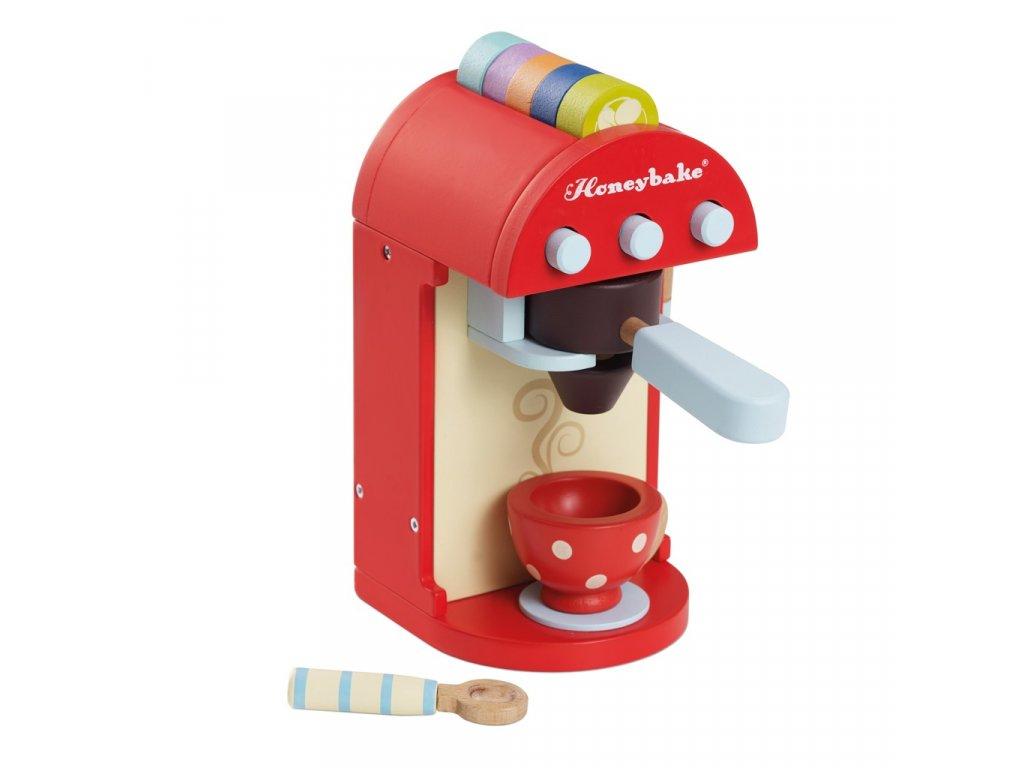 Le Toy Van Dětský dřevěný kávovar s příslušenstvím