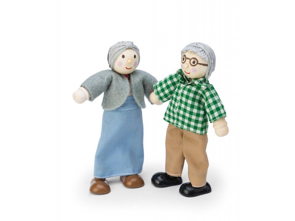 Le Toy Van Panenky do domečku babička s dědou