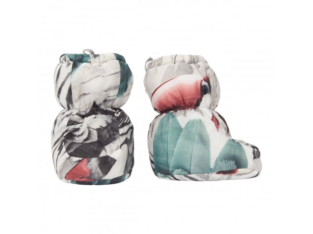Lodger Dětské zimní capáčky Socker Polyester Print Parrot 1