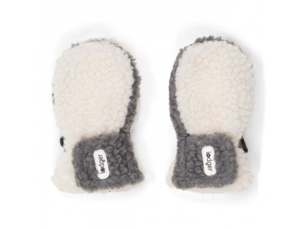 Lodger Dětské rukavice Mittens Off White 1