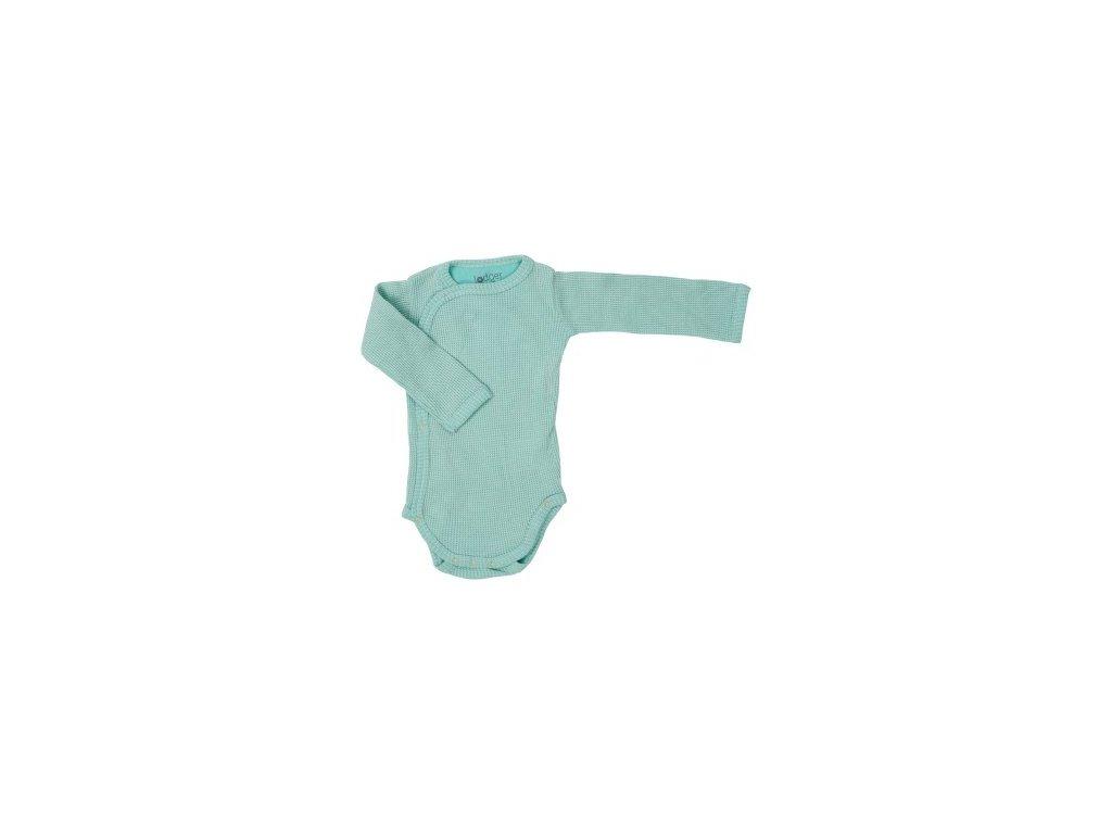 Lodger Dětské body Romper Long Sleeves Ciumbelle Silt Green 1