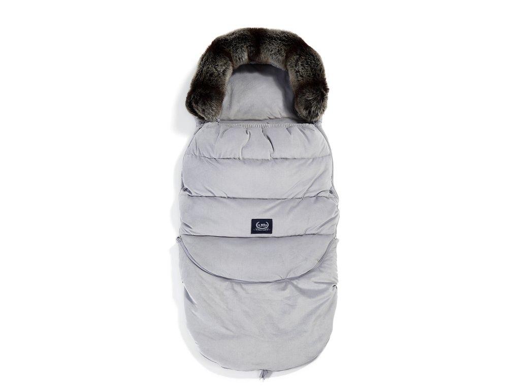 La Millou Dětský rostoucí zimní fusak Aspen Winterproof Combo Dark Grey
