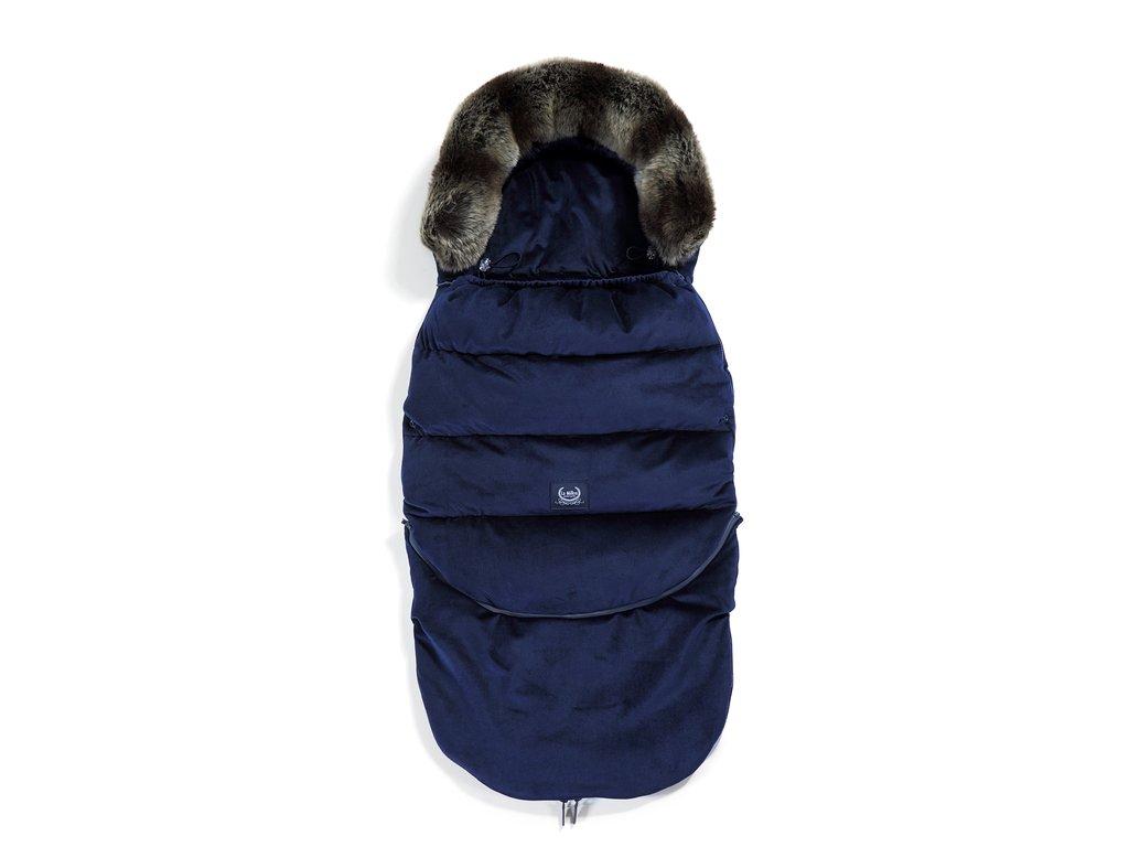 La Millou Dětský rostoucí zimní fusak Aspen Winterproof Combo Royal Navy