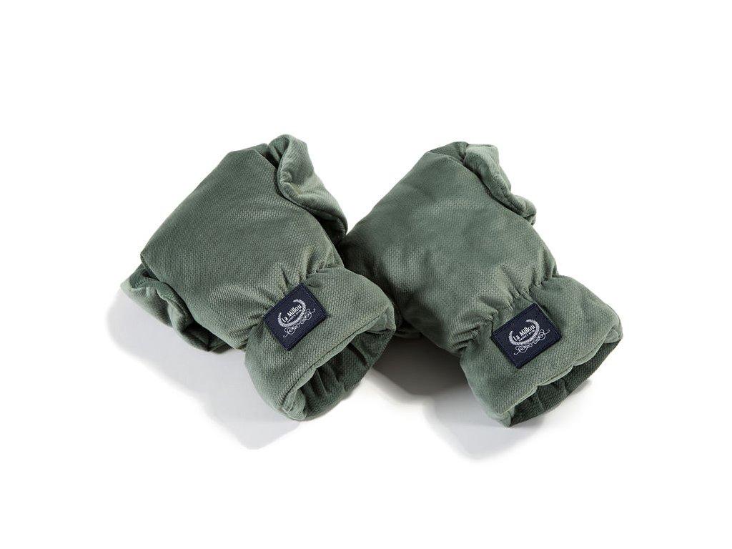 La Millou Univerzální rukavice na kočárek Aspen Winterproof Khaki