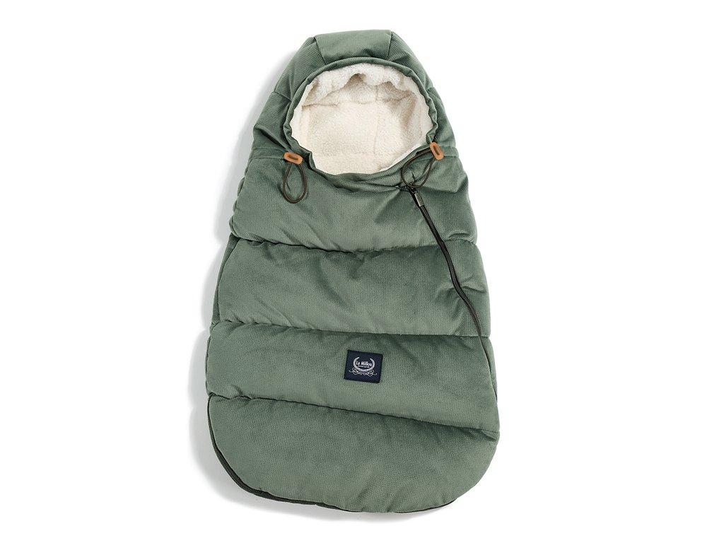 La Millou Zimní a podzimní fusak pro miminko Aspen Winterproof Baby Khaki