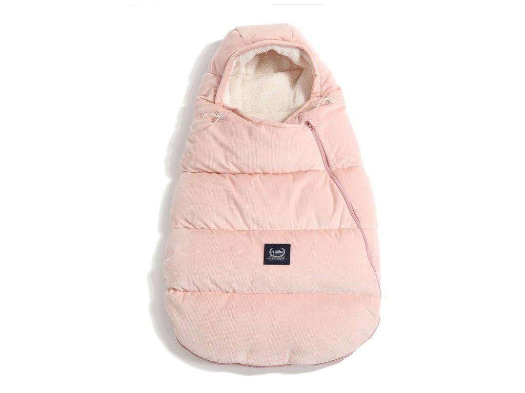 La Millou Zimní a podzimní fusak pro miminko Aspen Winterproof Baby Powder Pink