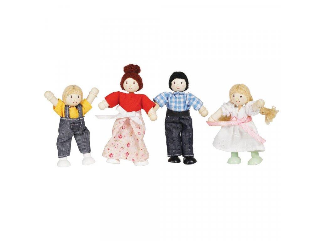 Postavičky do domečku pro panenky Le Toy Van