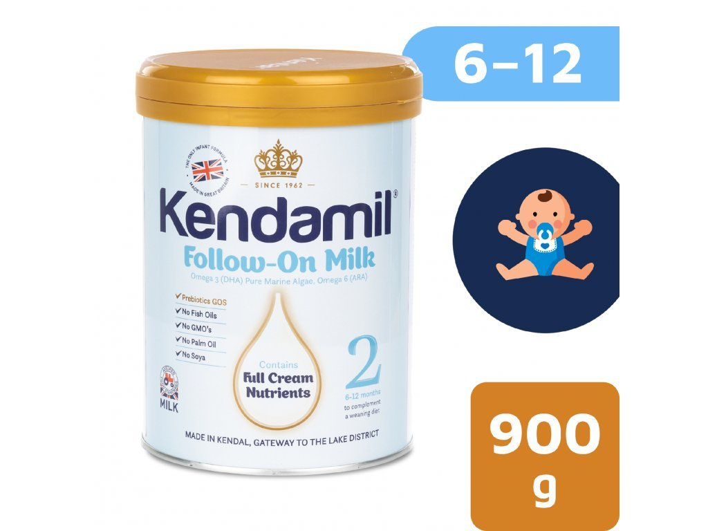 Kendamil pokračovací mléko 2 (900g) 1