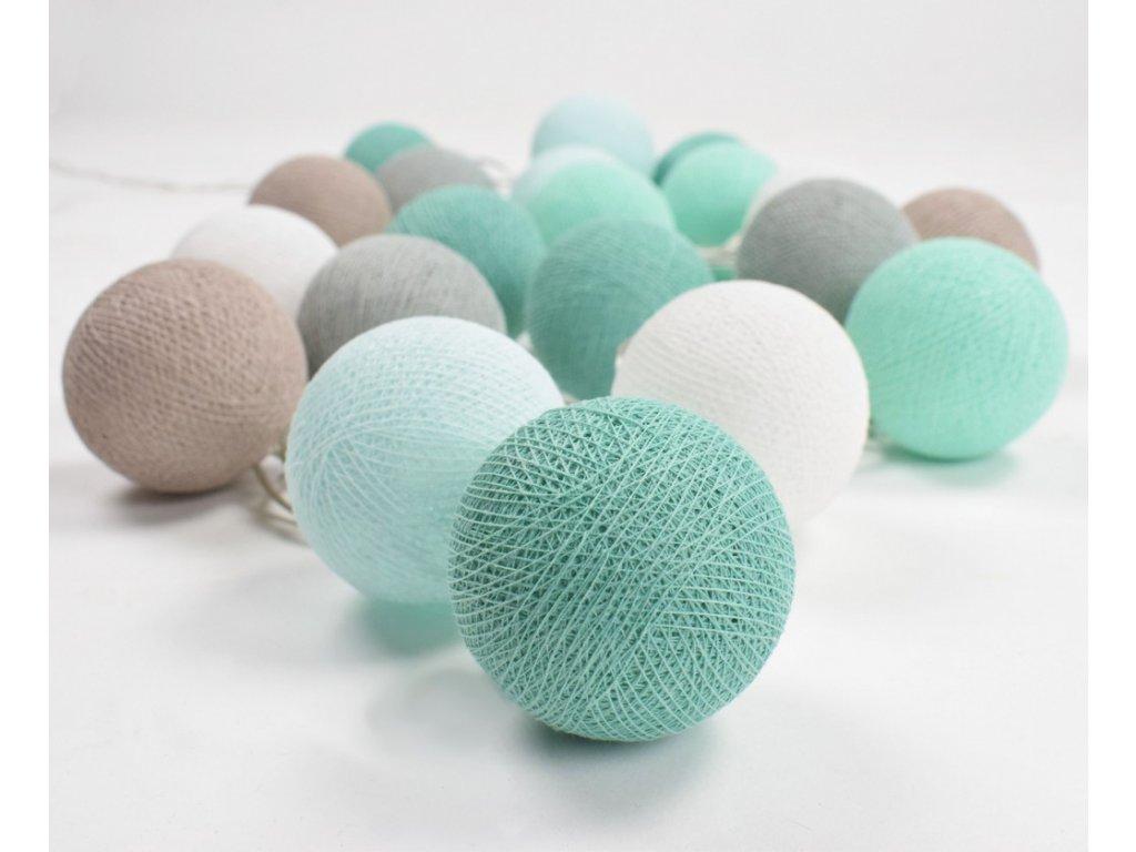 svitici koule balls modro zelene pro kluky