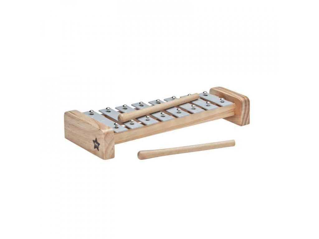 šedý xylofon