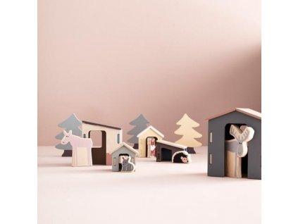 Dětská dřevěná zvířátka Edvin od Kids Concept