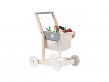 Nákupní košík Kids Concept Eli Wood