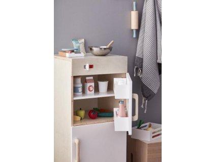 Dřevěná lednička s mrazákem Kids Concept