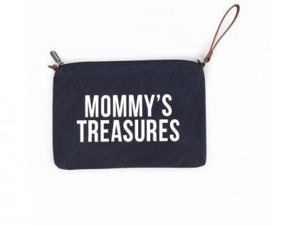 Childhome Mateřská taška Mommy's Treasures Navy White